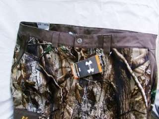 NWT UNDER ARMOUR CAMO HUNTING PANTS REALTREE ALLSEASON SZ 42/32
