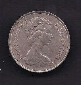 UK Great Britain 10 New Pence 1968 Coin KM # 912 Lot U9