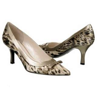 Womens AK Anne Klein Hers Taupe/Black Animal Shoes