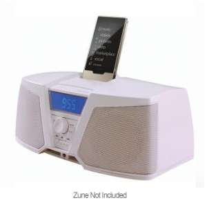Kicker zKICK ZK150W Zune Digital Stereo System   White at TigerDirect