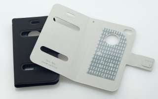 Apple iPhone 4S G Leder Tasche Flip Case Etui Table Talk