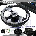 NRG/JDM COMBO STEERING WHEEL+QUICK RELEASE+SHORT HUB 8E (Fits 600)