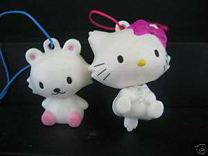 SANRIO CHARMMY HELLO KITTY AND FRIEND STRAP SET OF 2