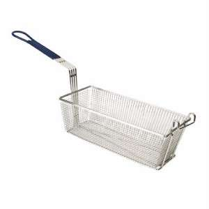 13 x 5 Stainless Steel Square Fry Basket Deep Frying Nickel Plated