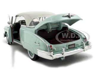 1950 CHEVROLET BEL AIR GREEN 124 DIECAST MODEL CAR