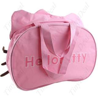 BIG Hello Kitty Head/Face Shaped Handbag Larger Shoulder Bag   Pink