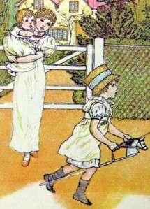 Kate Greenaways Mother Goose First Printing 1978 dj