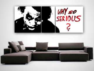 JOKER Batman POP ART HEATH LEDGER Gemälde DARK KNIGHT