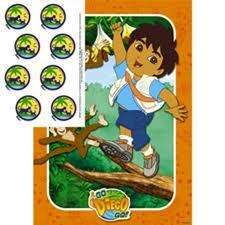 GO DIEGO Birthday Party Supplies ~ PARTY GAME poster 661526954286