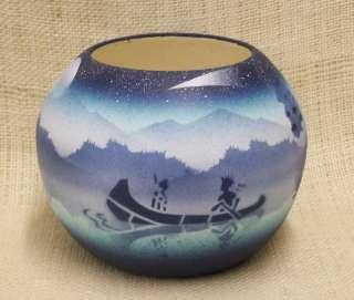 Cedar Mesa Native American Navajo Pottery Native Dream Anasazi Bowl