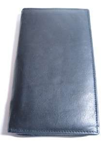 NEW Black Men Cowhide Leather Credit Card Zipper Wallet
