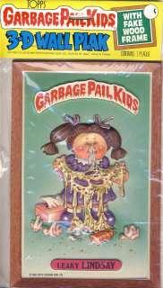 TOPPS GARBAGE PAIL KIDS 3 D WALL PLAK   LEAKY LINDSAY