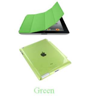 Crystal Hard Back Case Skin Cover Protector for Apple iPad 2 3 Gen