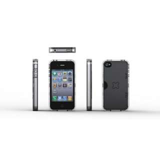 Exogear Exoclear Full Body Case with Kick Stand for iPhone 4 / 4S Free