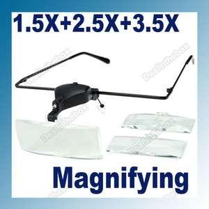 Magnifying Eye Glasses 1.5X/2.0X/3.0X Magnifier Lens Reading