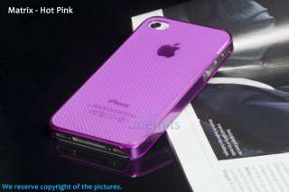 CRYSTAL HARD CASE COVER FOR APPLE IPHONE 4S 4GS 4 S 4 4G ULTRA SLIM
