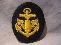 Old German WWII World War II Kriegsmarine Navy Military Patch Anchor