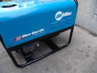 MILLER BLUE STAR 145 GENERATOR WELDER FINE WORKING CONDITION ONLY 158