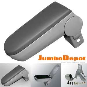 01 02 03 04 VW JETTA GOLF CENTER CONSOLE ARMREST GRAY