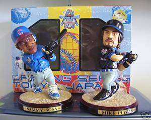 Mike Piazza Sammy Sosa JAPANESE EXCLUSIVE Statue Figure
