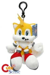 Sonic X Tails 7 Plush Doll Key Chain/HolderLicensed
