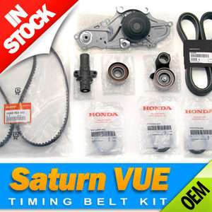 Saturn VUE Complete Timing Belt & Water Pump Kit for Honda 3.5L / V6