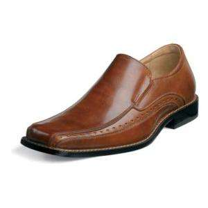 Stacy Adams Danton Mens Leather Dress Shoes Cognac24363