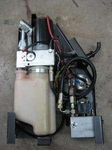 Monarch 12 12V Volt DC Electric Auxillary Hydraulic Pump Dump Truck