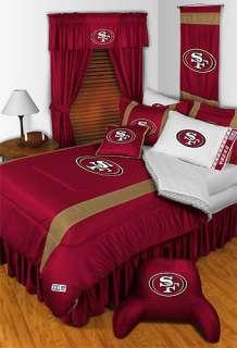 nEw NFL SAN FRANCISCO 49ers Twin Bedding COMFORTER SET