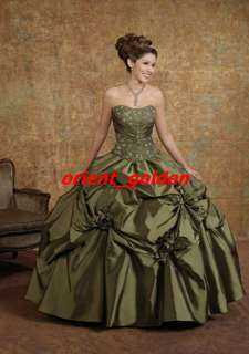 Sweetheart Ball Gowns Quinceanera Dresses Party Prom Evening Gowns