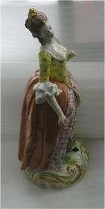 ANTIQUE DERBY PORCELAIN FIGURE, CROWN DERBY, 1770 80,