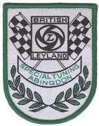 BRITISH LEYLAND SPECIAL TUNING EMBROIDERED PATCH