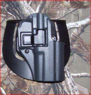 BLACKHAWK Serpa CQC Gun Metal Grey Sportster Holster, Size 20, Left