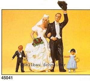 22,5 Preiser 45041 Brautpaar. Figuren. OVP