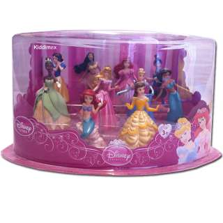 deluxe set features the little mermaid princess aurora snow white