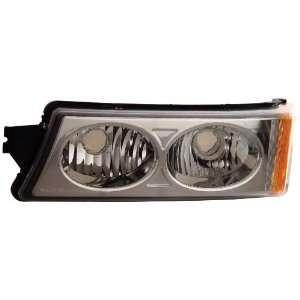 Anzo USA 511035 Chevrolet Avalanche/Silverado Chrome Crystal Lens
