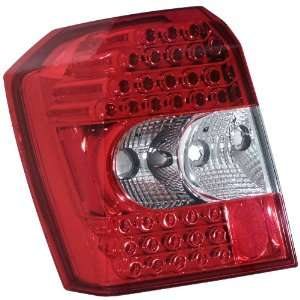 Anzo USA 321110 Dodge Caliber Crystal Lens Red/Clear LED Tail Light