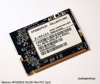 NEW ATHEROS AR5006XS ABG 108MBPS MINI PCI WIRELESS CARD