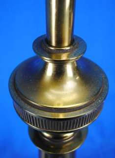 Large Big Vintage Brass Stiffel Co Table Lamp Light 30 |