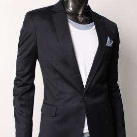 Completo uomo matrimonio giacca pantalone blu scuro XXL