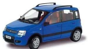 FIAT NUOVA PANDA 4X4 CARARAMA 124 164 49298 BLU