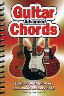 Advanced Guitar Chords   One Chord per page NEW book