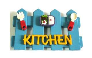 Handmade Funny Gift Wood Kitchen Sign Wall Home Decor C