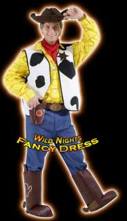 FANCY DRESS COSTUME ~ DELUXE DISNEY WOODY TOY STORY XL