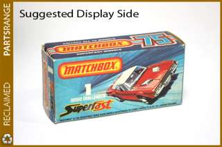 Dodge Challenger Matchbox 75 Superfast No.1 Collectable idea gift