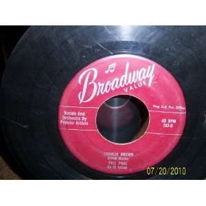 The Childrens Marching Song/Hawaiian Wedding Song/Charlie