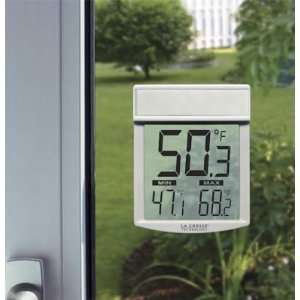 La Crosse Technology WT 62U TBP Window Thermometer:  Home