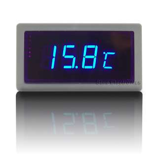 """56"""" Digital Blue LED Automobile thermometer Panel Meter(Internal"""