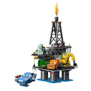 LEGO Disney Pixar Cars 2 Oil Rig Escape (9486)   LEGO   Action