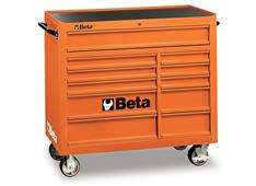 CASSETTIERA MOBILE CARRELLO BETA UTENSILI 11 CASSETTI C38 ORANGE BETA